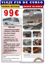 EXCURSION COLEGIO TERRA MITICA