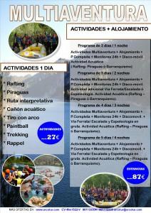 Oferta Multiaventura - ArcoTur